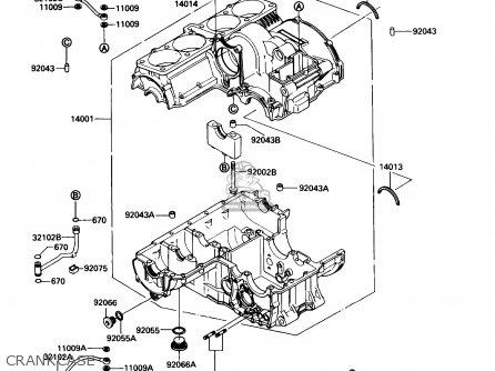 Kawasaki ZG1200B3 VOYAGER XII 1989 USA CALIFORNIA CANADA