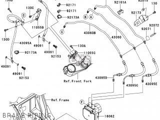 Kawasaki ZG1400CCF 1400GTR ABS 2012 EUROPE,MIDDLE EAST