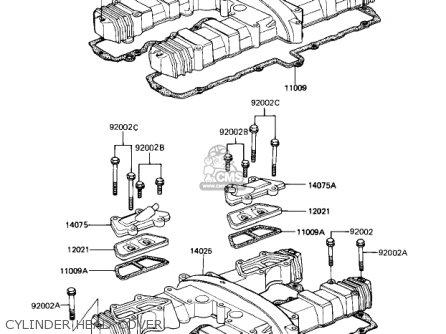 Kawasaki Zn1100b2 Shaft 1985 Usa California Canada / Ltd