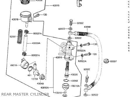 Kawasaki Zn1300a1 Voyager 1983 Usa California Canada parts