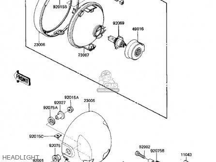Kawasaki Zn700a1 Shaft 1984 Usa California / Ltd parts