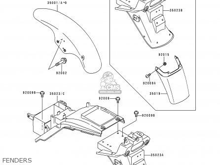 Kawasaki Zephyr Wiring Diagram Kawasaki 110 ATV Wiring
