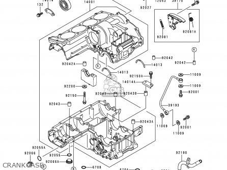 Kawasaki ZR1100C1 ZRX1100 1997 UNITED KINGDOM AR FG GR ST