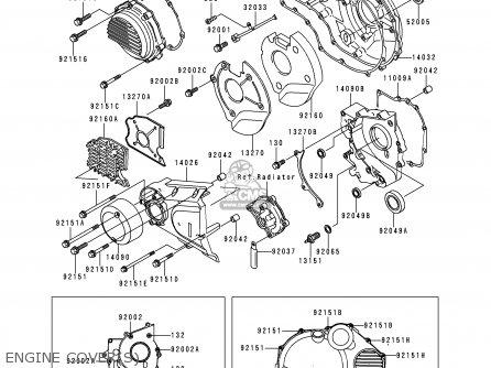 Kawasaki Zr1100d4 Zrx1100 2000 Europe Fr parts list