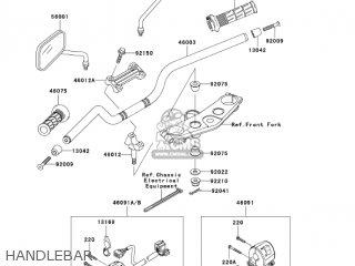 Kawasaki ZR1200A1 ZRX1200R 2001 USA CALIFORNIA CANADA