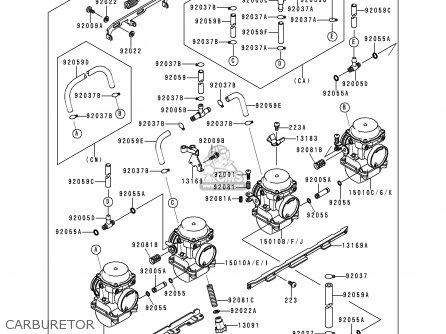 Kawasaki Zr750c2 Zephyr 1992 Usa California Canada parts
