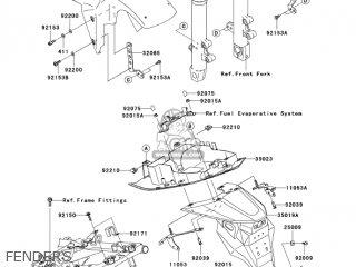 Kawasaki ZR750K1 Z750S 2005 USA CALIFORNIA CANADA parts