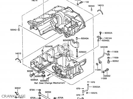 Kawasaki Engine Serial Number Identification Within