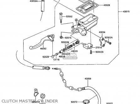Kawasaki ZX1000A3A GPZ1000RX 1988 UNITED KINGDOM parts