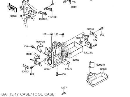 Kawasaki Zx1100a1 Gpz 1983 Usa California Canada parts