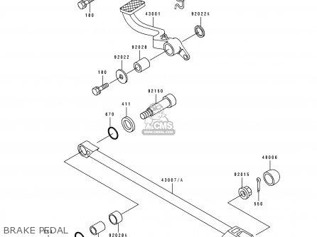 Kawasaki Zx1100d1 Zzr1100 1993 Europe Uk Fr Nl Ar Fg Gr It Nr Sd Sp St parts list partsmanual