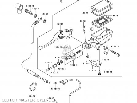 2008 Honda Civic Clutch Master Cylinder Diagram