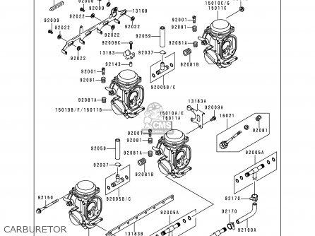 Kawasaki ZX1100D4 NINJAZX11 1996 USA CALIFORNIA CANADA