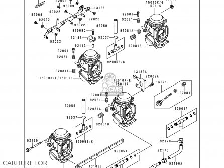 Kawasaki Zx1100d5 Ninjazx11 1997 Usa California Canada