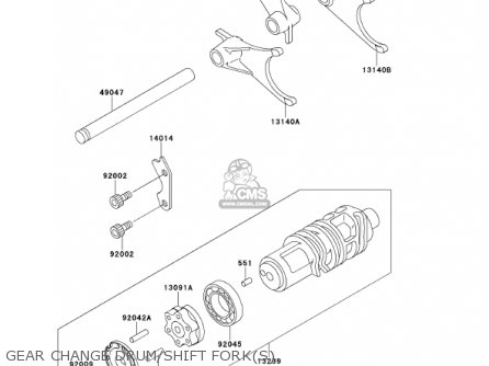 Kawasaki Zx1100d9 Ninjazx11 2001 Usa California parts list