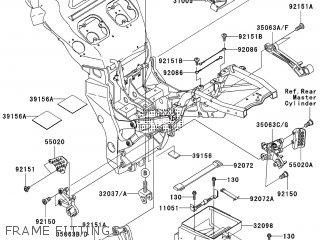 Kawasaki ZX1200-B4H NINJA ZX-12R 2005 EUROPE, MIDDLE EAST