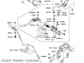 Kawasaki ZX1400C8F NINJA ZX14 2008 USA parts lists and