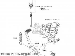 Kawasaki ZX1400CAF NINJA ZX14 2010 USA parts lists and