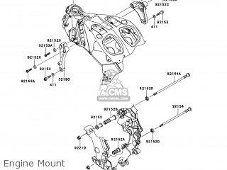 Kawasaki ZX1400EEFA NINJA ZX14R 2014 USA parts lists and