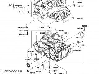 Kawasaki ZX1400FEFA NINJA ZX14R 2014 USA / ABS parts lists