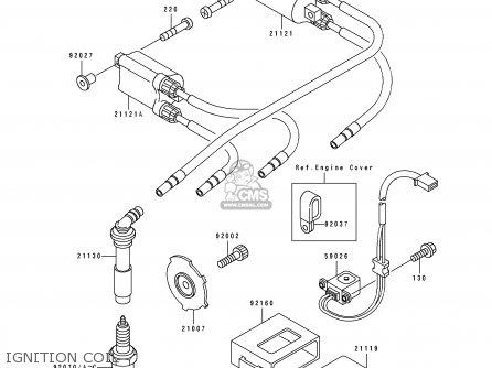 Kawasaki ZX400H2 ZXR400 1990 EUROPE FR AR IT parts lists