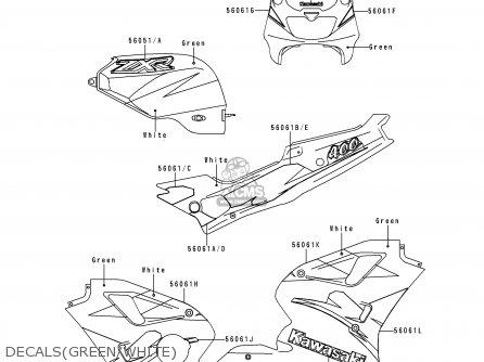 Kawasaki ZX400L9 ZXR400 1999 UNITED KINGDOM NL AR FG GR IT