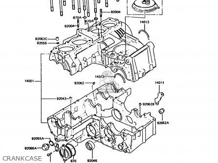 Kawasaki Zx550a4 Gpz550 1987 United Kingdom Fg parts list