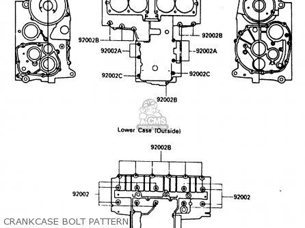 Kawasaki Zx600a1 1985 Europe Uk Fr Gr It Nr Sd parts list