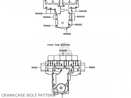 Kawasaki ZX600A4 NINJA 600R 1988 UNITED KINGDOM FG parts