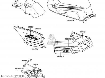 Kawasaki Zx600c1 Gpx600r 1988 Europe Uk Fr Fg Gr It Nr Sd