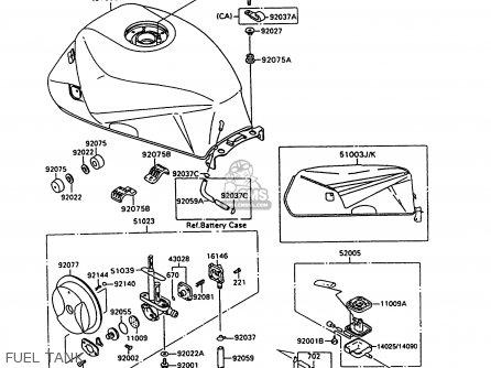 Kawasaki ZX600C8 NINJA 600R 1995 USA CALIFORNIA CANADA