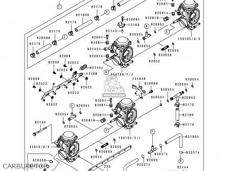 Kawasaki ZX600D1 ZZR600 1990 EUROPE UK FR AR FG GR IT NR