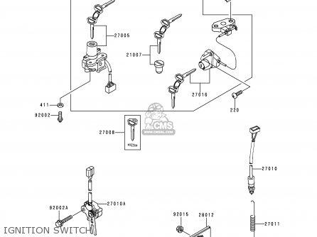 1998 Kawasaki 600 Wiring Diagram Kawasaki KZ550 Wiring
