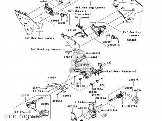 Original parts for Kawasaki ZX600P8F NINJA ZX6R 2008 USA