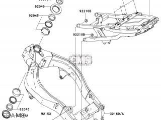 Kawasaki ZX636B1H NINJA ZX6R 2003 EUROPE,MIDDLE EAST