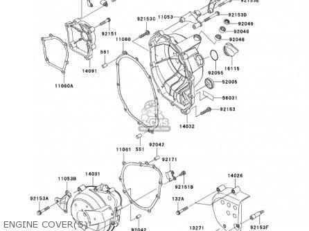 Kawasaki Zx636d6f Zx6r 2006 Usa California Canada parts