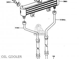 Kawasaki Zx750a5 Gpz750 1987 Usa parts list partsmanual