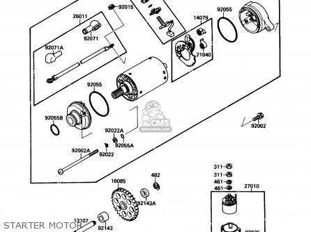 Kawasaki ZX750F1 NINJA 750R 1987 USA CALIFORNIA CANADA