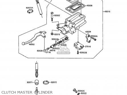 Kawasaki ZX750F3 GPX750R 1989 EUROPE FR UK AR NR parts