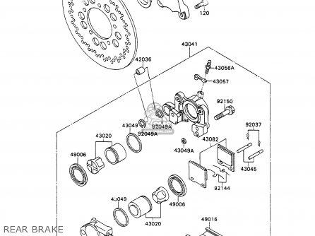 Kawasaki ZX750H1 ZXR750 1989 EUROPE UK FR AR FG GR IT NR