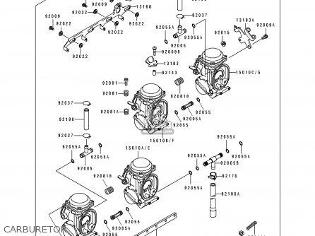 Kawasaki ZX750L1 NINJA ZX7 1993 USA CALIFORNIA CANADA
