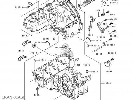 Kawasaki ZX750M1 ZXR750R 1993 EUROPE UK FR AR FG IT SP