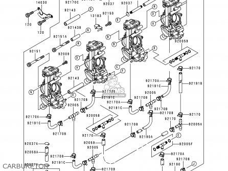 Kawasaki ZX750N2 NINJA ZX7RR 1997 NETHERLANDS AR parts