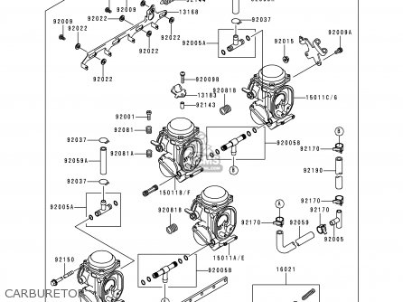 Kawasaki ZX750P1 NINJA ZX7R 1996 USA CALIFORNIA CANADA