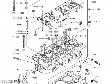 Kawasaki ZX750P2 NINJA ZX7R 1997 USA CALIFORNIA CANADA
