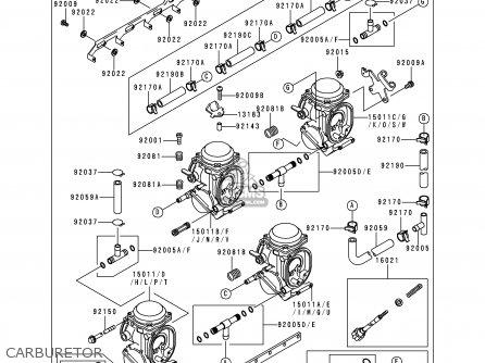 Kawasaki ZX750P3 NINJA ZX7R 1998 EUROPE UK FR NL AR FG GR
