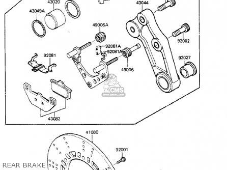 Kawasaki Zx900a2 Ninja 1985 Usa California Canada parts