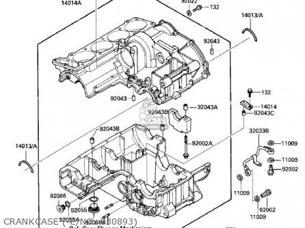 Kawasaki ZX900A3 NINJA 1986 USA CALIFORNIA CANADA parts