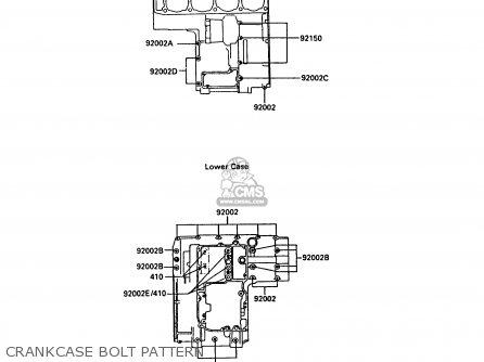 Kawasaki ZX900A5A GPZ900R 1988 UNITED KINGDOM parts lists