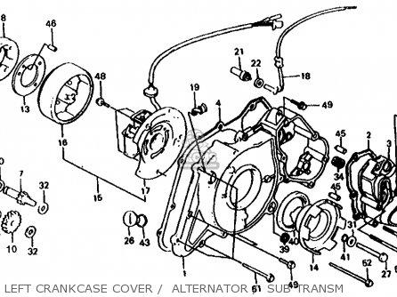 SW.ASSY.,REVERSE for TRX125 FOURTRAX 125 1986 (G) USA